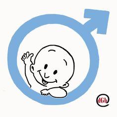 baby jongen symbool