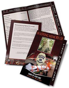 Funeral Program Templates  Brochures