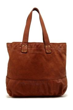 Cole Haan Tote Bag in Brown Leather.