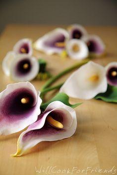 Calla lilies tutorial