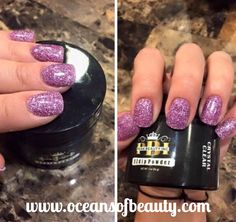 Crystal Clear & Craft Glitter. EZdip Gel Powder. DIY EZ Dip. No lamps needed, lasts 2-3 weeks! Salon Quality done right in your own home! For updates, customer pics, contests and much more please like us on Facebook https://www.facebook.com/EZ-DIP-NAILS-1523939111191370/ #ezdip #ezdipnails #diynails #naildesign #dippowder #gelnails #nailpolish #mani #manicure #dippowdernails