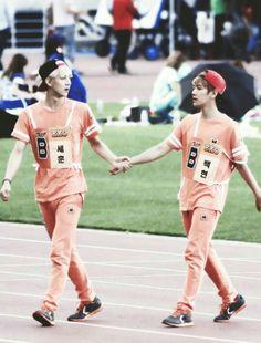 Sehyun or Baekhun (?) idk their ship name I'm so sorry xD