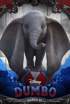 Dumbo on DVD June 2019 starring Colin Farrell, Eva Green, Danny DeVito, Michael Keaton. Circus owner Max Medici (Danny DeVito) enlists former star Holt Farrier (Colin Farrell) and his children Milly (Nico Parker) and Joe (Finley Disney Live, Disney Dumbo, Disney Art, Michael Keaton, Movies 2019, New Movies, Good Movies, Movies Free, Movies Online