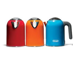 Perfect for Girls: Colorful and cute Delonghi kMix electric tea kettles, $80