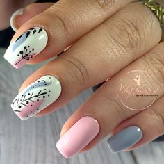 Nail Time, Stylish Nails, Manicure And Pedicure, Nail Art Designs, Makeup, Diana, Virginia, Pastel, Beauty