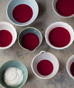 Chilled Beet & Apple Soup