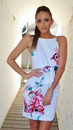 Rose' Dress White $64.00