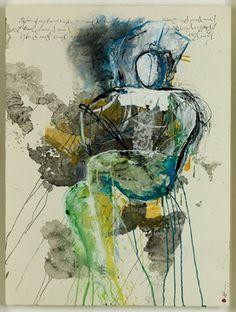 "Saatchi Online Artist Alejandro Hermann; Mixed Media, ""Arches 588"" #art"
