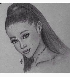 Ariana grande drawing drawings girl pencil realistic tips ideas doodle fan art step by Easy Realistic Drawings, Art Drawings Sketches Simple, Pencil Art Drawings, Colorful Drawings, Easy Drawings, Cute Drawings Of People, Sketches Of People, Drawings Of Friends, Drawing People