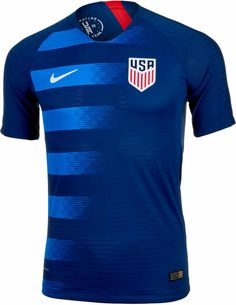 Buy the Nike USA Away Match Jersey for and support the squad this summer in the World C. in all of the matches the US Soccer team plays! Football Cheerleaders, Football Outfits, Football Shirts, Sport Outfits, Us Soccer, Soccer Kits, Play Soccer, Real Madrid, Soccer Uniforms