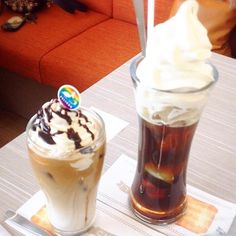 ランチ後のカフェタイム。ゆっくり楽しみました。 - 139件のもぐもぐ - アイスカフェモカ・コーヒーフロート by 美也子