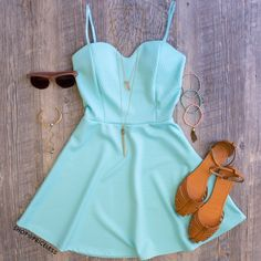Amèlie Dress - Mint #Fashion #style #cute #dress #ootd #cute #trendy #Spring #ShopPriceless