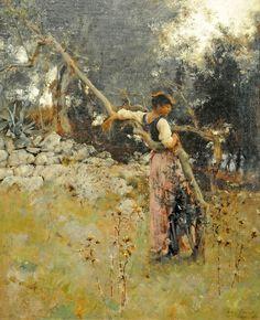 John Singer Sargent, A Capriote, 1878