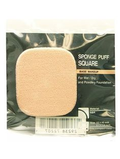 Shiseido The Makeup SPONGE PUFF SQUARE (For Wet/Dry and Powdery Foundation) ** Be sure to check out this awesome beauty product.