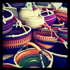 African baskets, we know you.