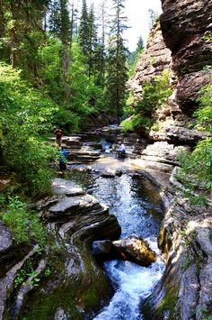 Devils Bathtub, Spearfish Canyon, South Dakota
