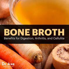 Bone Broth Benefits - Dr.Axe http://www.draxe.com #health #holistic #natural