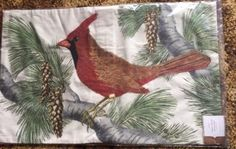 """Nwt pottery barn #holiday fauna cardinal #lumbar pillow #cover 16 x 26"""",  View more on the LINK: http://www.zeppy.io/product/gb/2/332008463484/"""