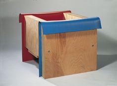 Pello Irazu, Habitación para dos/Room for Two, 1986. Madera y goma Medidas: 76,5 x 104 x 91,5 cm on ArtStack #pello-irazu #art Wood Sculpture, Magazine Rack, Cabinet, Storage, Room, Furniture, Artists, Space, Home Decor