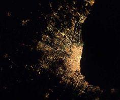 night view : Chicago, Illinois