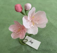 Paper flower gladioli glads gladiolus paper flowers customise your wedding bridal shower baby girl shower birthday party special event ccuart Images