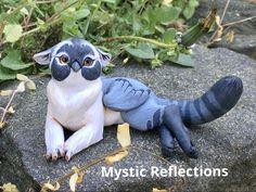 Handmade ooak Polymerclay Sculpture by Mystic Reflections Polymer Clay Creations, Fantasy Artwork, Mystic, Garden Sculpture, Etsy Seller, Creative, Handmade, Hand Made, Fantasy Art
