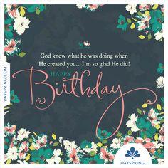 Happy Birthday! - http://www.dayspring.com/ecardstudio/#!/single/828