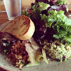 "@The Green Life: we're mildly obsessed with Tender Green's ""Happy Vegan Salad"" right now! have you tried it?"