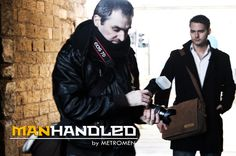 a sneak preview of our recent photo shoot for manhandled bags.
