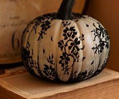 stocking over a pumpkin. How neat!!