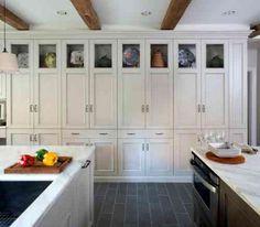déco plafond bas et cuisine contemporaine