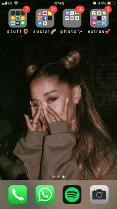 home screen layout iphone apps ; iphone 8 plus apps layout ; Lookscreen Iphone, Coque Iphone, Free Iphone, Organize Apps On Iphone, Apps For Iphone, Application Iphone, Iphone App Layout, Iphone Home Screen Layout, Ariana Grande Fotos