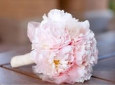 Pink Peony bouquet| Ballet wedding