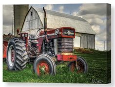 Farm Scene - Painting Art Print by Garvinhunterphotography - X-Small Photography Projects, Creative Photography, Painting Prints, Art Prints, Farm Art, Landscape Prints, Online Art Gallery, Beautiful Landscapes, Scene