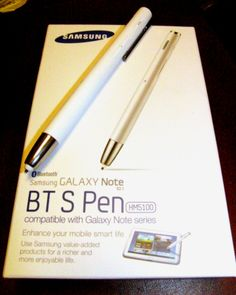 Samsung's James-Bond-like BT S Pen, a tablet and cell phone stylus which has a microphone and speaker and doubles as a Bluetooth wireless headset, is finally available for purchase. Click the pic to read all about it at The Paper PC - (Photo © Copyright 2012 Robert S. Anthony, Stadium Circle Features)