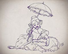 Lillian Gracey the tightrope walker from the Disney attraction Haunted Mansion. She's my favorite character! Haunted Mansion Disney, Haunted Mansion Tattoo, Disney Sketches, Disney Drawings, Disney Tattoos, Disney Magic, Disney Art, Disney Stuff, Disney Humor