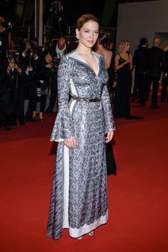 "Lea Seydoux - ""It's Only the End of the World"" Premiere - 2016 Cannes Film Festival HarpersBAZAAR.com"
