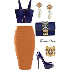 Embellished by terra-glam on Polyvore featuring Boohoo, GEDEBE and Kate Spade