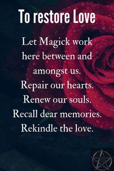 Wicca Love Spell, Love Spell Chant, Witch Spell Book, Witchcraft Spell Books, Witchcraft Spells For Beginners, Healing Spells, Wiccan Spells, Voodoo Spells, Good Luck Spells