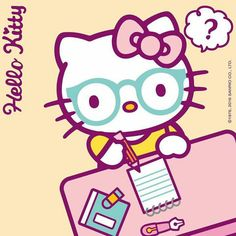 Fashion, wallpapers, quotes, celebrities and so much Hello Kitty Backgrounds, Hello Kitty Wallpaper, Minion Baby, Hello Kitty Imagenes, Sanrio Danshi, Hello Kitty Art, Hello Sanrio, Sanrio Wallpaper, Hello Kitty Pictures