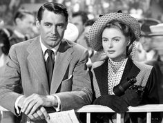 Ingrid Bergman in Notorious. Cary Grant's not bad to look at either.