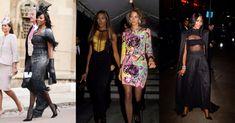 Modelka Naomi Campbell wie, jak ze smakiem przeciwstawiać się wyświechtanym schematom. Przypominamy wesela, na których była najlepiej ubrana wśród gości. Vogue Wedding, Christy Turlington, Dolly Parton, Naomi Campbell, Kate Moss, Balmain, Kimono Top, Women, Fashion