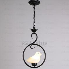 Ceramic-Bird-Shade-Black-Wrought-Iron-Pendant-Lights-SVLT221520421-1.jpg (613×613)