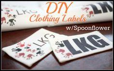 DIY Labels using Spoonflower