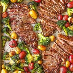 STEAK AND VEGGIES follow (@deliciousfoodvideos) . Hashtag #Shredded_Academy @ us in your captions for a shoutout . Recipe: @damn_delicious #fitness #inspiration #workout #weightloss #motivation #fitspiration #instafitness #fitfam #fit #transformation #exercise #dedication #determination #fitnessmodel #abs #goals #exercises #workoutvideo #workoutvideos #healthy #health #aesthetics #results #nutrition #coach #onlinecoach #fitnesscoach . Recipe: 2 pounds baby red potatoes 3 cups broccol...