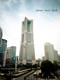 Yokohama Landmark Tower, Japan | JustOneCookbook  横浜ランドマークタワー