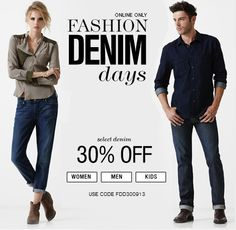 Fashion Denim Days! 30% off Select Styles - 7 For All Mankind. on DealsAlbum.com