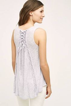Lace-Up Swing Tank