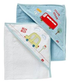 Happy Town Cuddle Dry - 2 Pack Cuddling, How To Find Out, Towel, Packing, Happy, Baby Baby, Hooded Towels, Cowls, Accessories