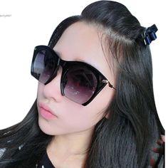 2016 Hot Fashion Korean Unisex Retro Large Half Frame Sunglasses To Ukraine Also 3 Super Sunglasses Cazal Sunglasses From Betty9907, $12.07  Dhgate.Com